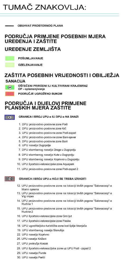 Općina Dugopolje - Posebne mjere uređenja i zaštite