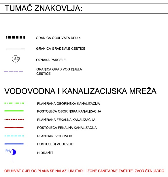 DPU Podi - 3.2. Plan mreže vodovoda i kanalizacije