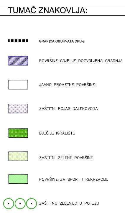 DPU Podi - 7.2. Uvjeti korištenja, uređenja i zaštite prostora