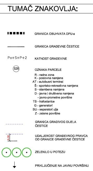DPU Podi - 8.1. Uvjeti gradnje
