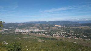 Slika Dugopolja sa sjeverne strane planine Mosor