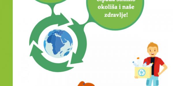 Brošura reciklažnog dvorišta slika naslovne stranice